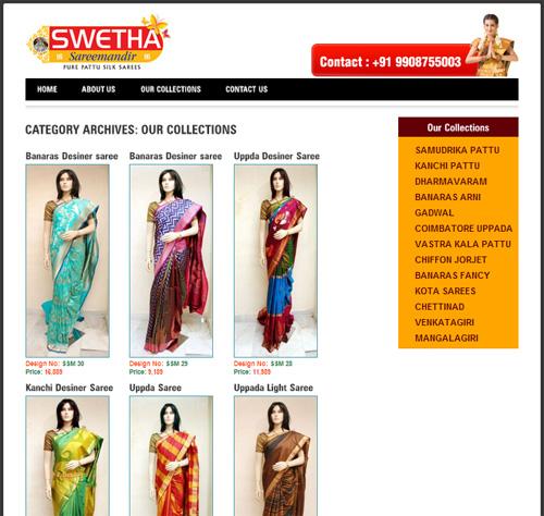 Website Design Template 51110: clothes store shop cart prices fashion