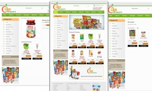 Grocery and Kirana Website Design